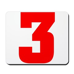 NUMBER 3: WE'VE GOT YOUR NUMB Mousepad