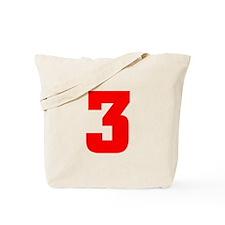 NUMBER 3: WE'VE GOT YOUR NUMB Tote Bag