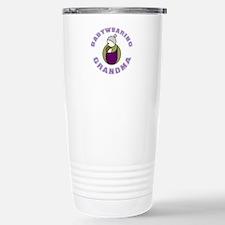 Cruncy Grandma (Customized) Travel Mug