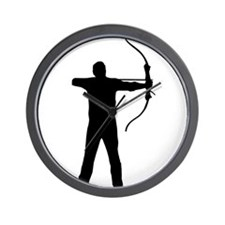 Cute Bow and arrow Wall Clock