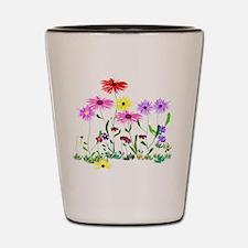 Flower Bunch Shot Glass