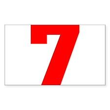 lucky seven Decal