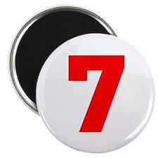lucky seven Magnet