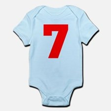 lucky seven Infant Bodysuit