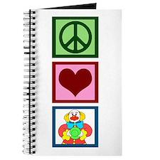 Peace Love Clowns Journal