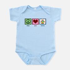 Peace Love Clowns Infant Bodysuit