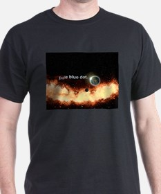 No Border Pale Blue Dot T-Shirt