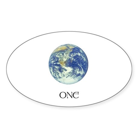 misc. items Oval Sticker