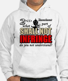 Shall Not Infringe! Hoodie