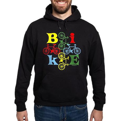 Four Bikes Hoodie (dark)