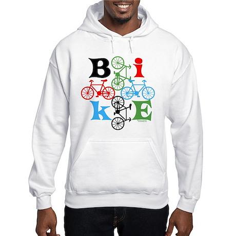 Four Bikes Hooded Sweatshirt