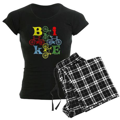 Four Bikes Women's Dark Pajamas