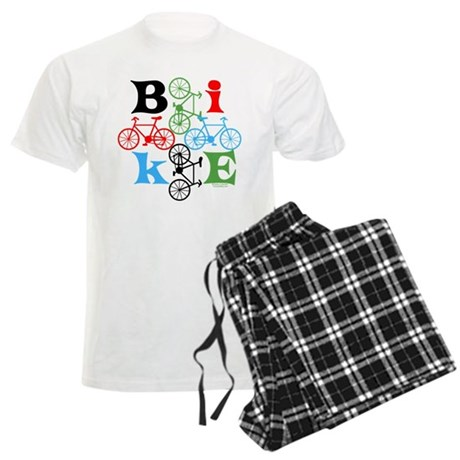 Four Bikes Men's Light Pajamas