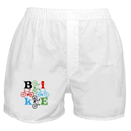 Four Bikes Boxer Shorts