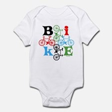 Four Bikes Infant Bodysuit