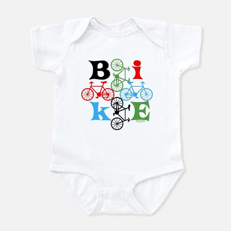 Four Bikes Infant Bodysuit