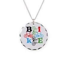 Four Bikes Necklace