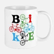Four Bikes Mug
