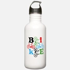 Four Bikes Water Bottle