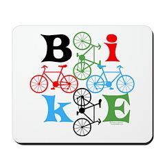 Four Bikes Mousepad