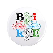 """Four Bikes 3.5"""" Button"""