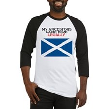 Scottish Heritage Baseball Jersey