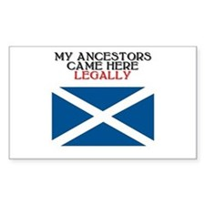 Scottish Heritage Rectangle Bumper Stickers