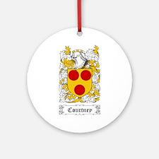Courtney Ornament (Round)