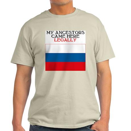 Russian Heritage Ash Grey T-Shirt