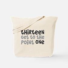 Funny 13.1 Tote Bag