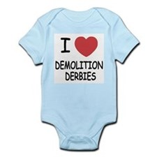 i heart demolition derbies Onesie