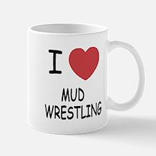i heart mud wrestling Mug