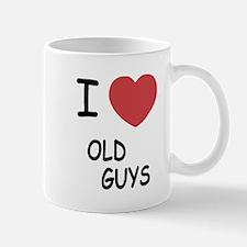 i heart old guys Mug