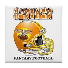 Fantasy Football - Hangmen Tile Coaster