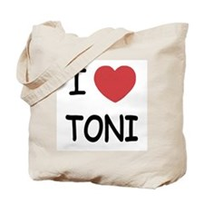 i heart toni Tote Bag