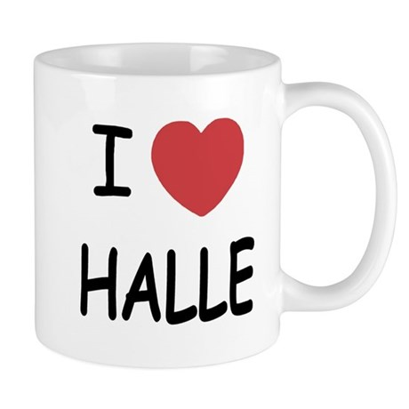 i heart halle Mug