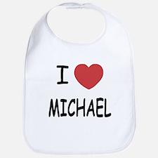 i heart michael Bib