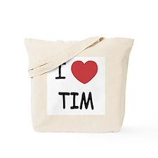 i heart tim Tote Bag