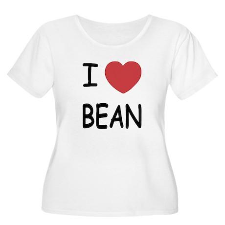 i heart bean Women's Plus Size Scoop Neck T-Shirt