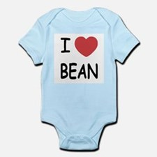 i heart bean Onesie