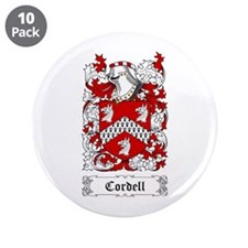 "Cordell 3.5"" Button (10 pack)"