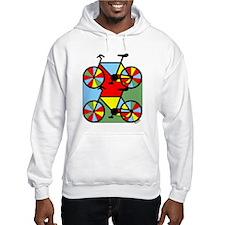 Colorful Bikes Hoodie