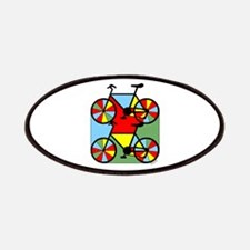 Colorful Bikes Patches