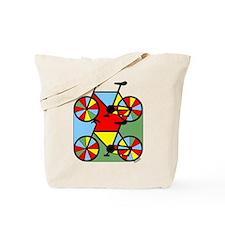 Colorful Bikes Tote Bag