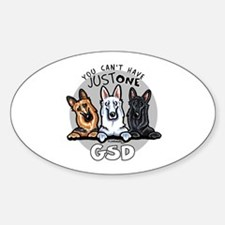 Just One GSD Decal