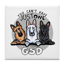 Just One GSD Tile Coaster