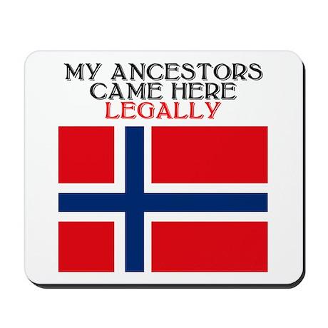 Norwegian Heritage Mousepad