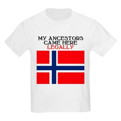 Norwegian Heritage Kids T-Shirt