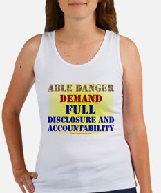Able Danger Women's Tank Top