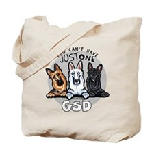 Just One GSD Tote Bag